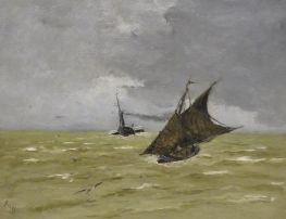 3 BOGGS Arrive¦üe du bateau du Havre