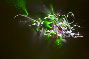 © Rézine - Light painting - Pointer-shit-kali – 2013