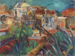 Ignjat Job, Moj dom, 1935., Moderna galerija Zagreb