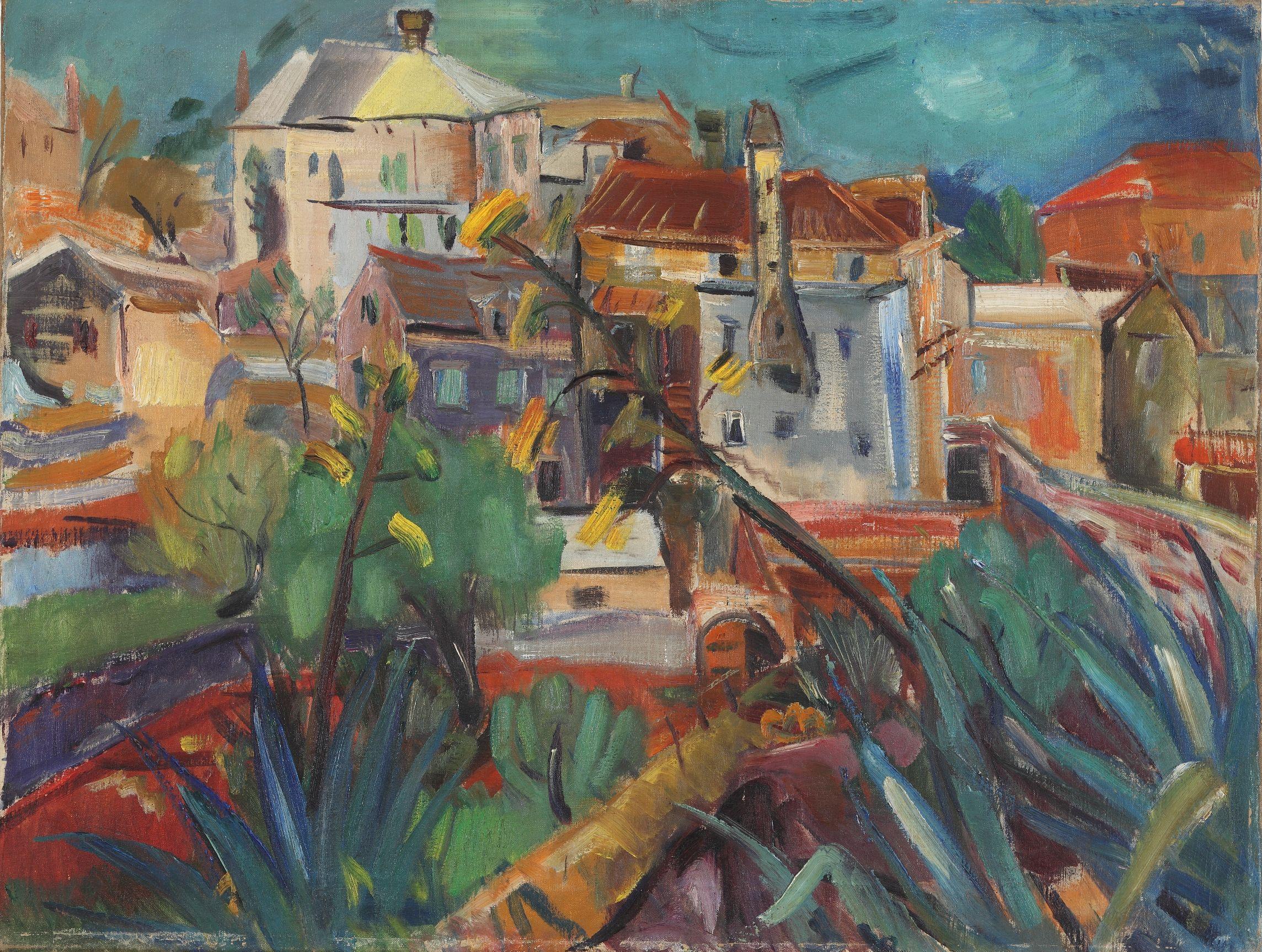 Ignjat Job - Page 2 Ignjat-Job-Moj-dom-1935.-Moderna-galerija-Zagreb