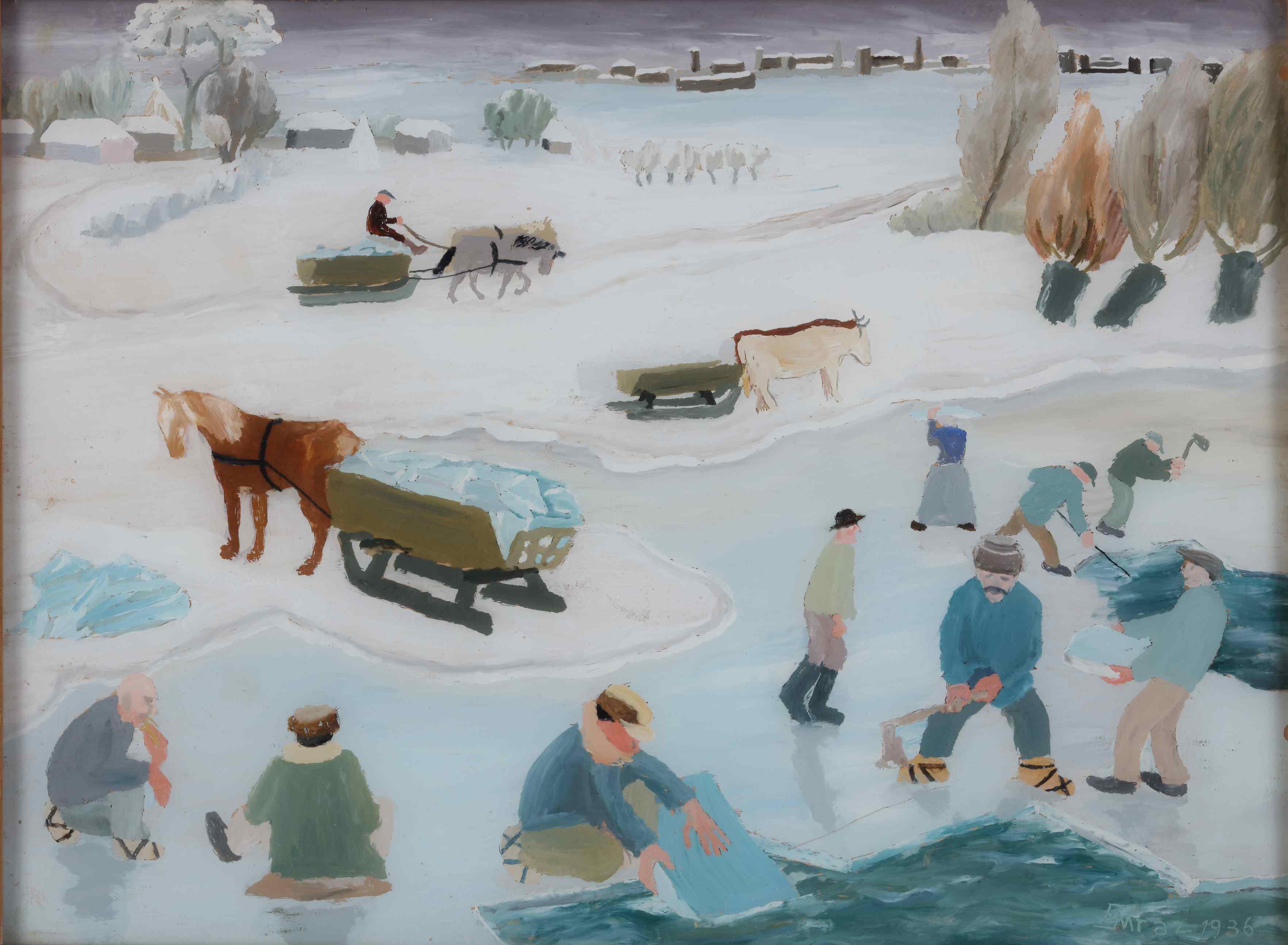 Izložba 'Umjetnost i život su jedno: Udruženje umjetnika Zemlja 1929.-1935.' u Klovićevim dvorima