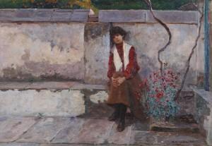 Djevojčica, 1901., Kolekcija Vugrinec