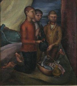 Ignja Job, Molitva, 1927.28., Galerija umjetnina Branko Dešković, Bol