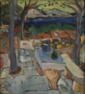 Ignjat Job, Kameni stol, 1935., Galerija umjetnina Split
